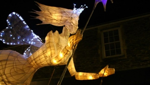 Christmas angels lead to Cornwall