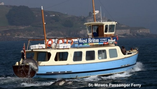 Catch the ferry to St Mawes