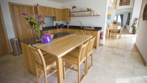 Hand carved oak kitchens